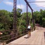 AARP biking bridge